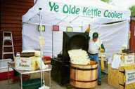 Ye Olde Kettle Cooker with awning