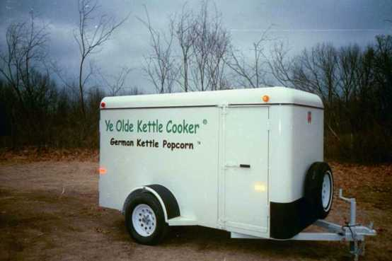 Ye Olde Kettle Cooker - Trailer Package - Ready to hook up & go
