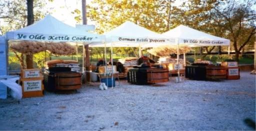 Image - Three cooker setup at War Eagle Arts & Craft Show