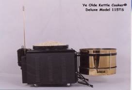 Image - Ye Olde Kettle Cooker Model 115TS with popcorn